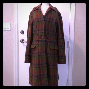 Halogen Long Wool Pea Coat